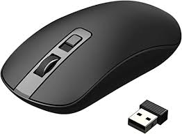 VicTsing <b>Wireless Mouse</b>, Slim Silent 2.4G <b>Portable</b> Optical Mice ...