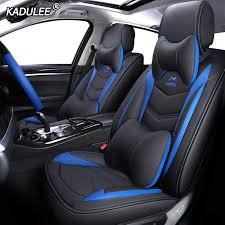 KADULEE <b>pu leather Universal Car</b> Seat covers for Chrysler all ...