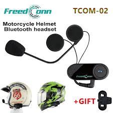 Freedconn TCOM 02 Moto Casco Headphone <b>Motorcycle Helmets</b> ...