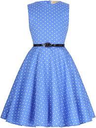 Kate Kasin Girls Sleeveless Vintage Print Swing Party ... - Amazon.com
