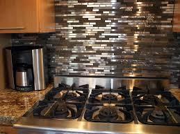 kitchen backsplash stainless steel tiles: kitchen design modern long rectangle subway stainless steel combine dark cream tiles backsplash dark combine