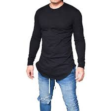 haoricu Mens <b>Shirt</b>, 2019 Men <b>O Neck</b> Long Sleeve Slim Fit <b>Tee</b> T ...