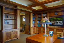 arts and crafts prairie in wayzata craftsman home office arts crafts home office