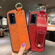 <b>Leather</b> rivet <b>wristband suitable</b> for iphone11pro Xr Xs 8Plus X Max ...