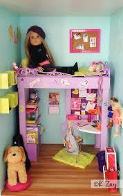 american girl mckennas bedroom by kim zay wwwagdesigncraftcreateblogspotcom american girl american girl furniture ideas