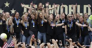 where when u s women s soccer team hits town this week