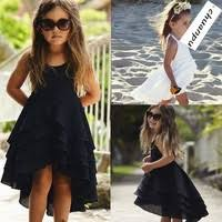 <b>Summer</b> Kids <b>Girls Dress</b> Sleeveless Lace Up <b>Dress</b> Party <b>Clothing</b> ...