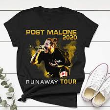 Post Runaway Tour 2020 Malone Hiphop T-Shirt Gift ... - Amazon.com