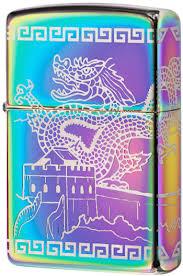 49045 <b>Зажигалка</b> Zippo <b>Great</b> Wall of China, Spectrum High Polish
