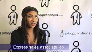 express interview s associate