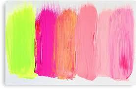 smuged | Canvas <b>Print</b> | <b>Neon</b> colour palette, Color schemes, <b>Neon</b> ...