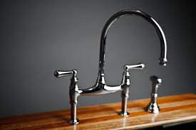 perrin rowe lifestyle: rohl perrin amp rowe bridge kitchen faucet with sidespray top overview