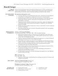 a military sample resume resume military  seangarrette coa