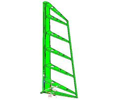5. <b>Приспособление</b> для сборки <b>вертикального</b> оперения.