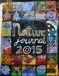 creative rumblings nature journal cover page i tweaked the inchie collage technique and came up this design that features almost all that constitutes nature and that i come across regularly in my