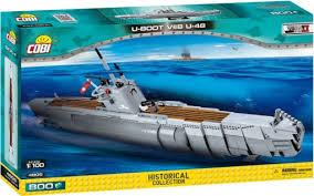 <b>Конструктор COBI</b> Подводная лодка <b>U</b>-<b>48</b>, 800 деталей купить в ...