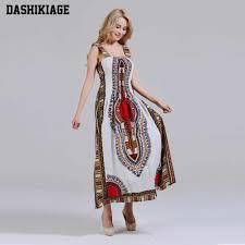 <b>Dashikiage 100</b>% <b>Cotton</b> Vintage Dashiki Long Dress Petal Sleeve ...