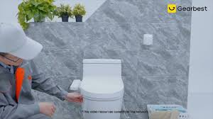 <b>Smartmi Smart Toilet</b> Seat - Gearbest.com - YouTube