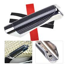 <b>CITALL Carbon Fiber Style</b> Car Hand Brake Handle Cover Protector ...