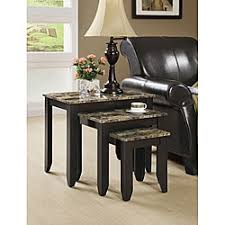 marble dining table adecc: nesting tables coffee sofa amp end tables affordable accent tables overstockcom