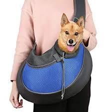 Pets Empire Mesh <b>Hands</b>-<b>free Pet Carrier</b> Shoulder <b>Bag</b> with ...