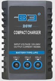 Deep RC <b>Зарядное устройство Deep RC</b> B3 Compact 20W (2-3S ...