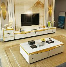 Tvstand/<b>Coffee table set</b>, <b>High</b> classic quality modern style