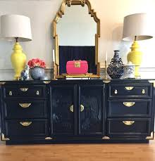 images hollywood regency pinterest furniture: chinoiserie hollywood regency style buffet or dresser lacquered in deep navy blue