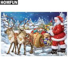 "<b>HOMFUN 5D DIY Diamond</b> Embroidery Full Display ""Christmas gift ..."