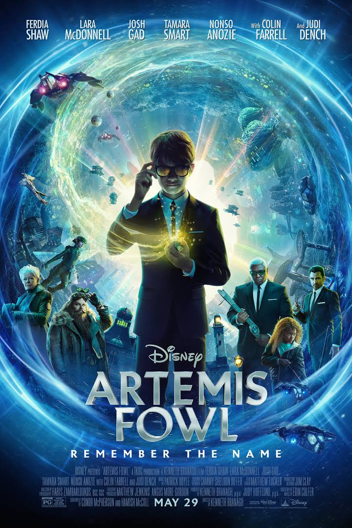 Download Artemis Fowl (2020) Full Movie {English With Subtitles} 480p | 720p