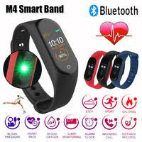 Bluetooth <b>Fitness Tracker</b> with Heart Rate Monitor Step Counter ...