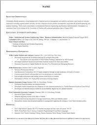a proper resume doc tk a proper resume