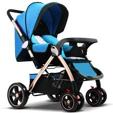 7.8 Belecoo Baby Stroller <b>High Landscape Baby Carriage</b> Sit And ...