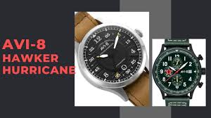 Обзор и розыгрыш часов <b>AVI</b>-<b>8</b> Hawker Hurricane AV-4046 и AV ...