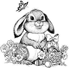 Small Picture Best 25 Bunny Coloring Pages Ideas On Pinterest Easter Coloring