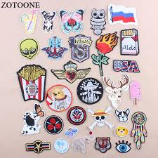 <b>ZOTOONE Iron</b> On Snake <b>Letter</b> Military Patch Embroidery Flower ...