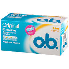 Купить <b>О.б</b>. <b>Тампоны</b> ватные нормал коробка №32 (арт. 14470 ...