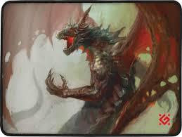 Купить <b>коврик</b> для мыши <b>Defender Dragon</b> Rage M (50558) по ...