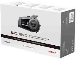 <b>Sena 10C Evo</b> Camera <b>Bluetooth</b> Communication System Single Pack