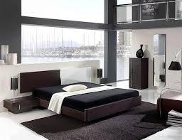 delightful design ideas of modern bedroom with dark brown wooden bed frames and white brown color bedroom design ideas dark