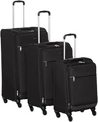 AmazonBasics 3 Piece Softside Carry-On Spinner ... - Amazon.com