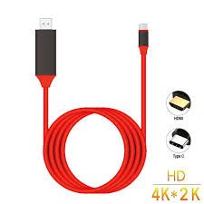 USB 3.1 Type C To <b>HDMI 4K</b> 1080P HDTV Adapter Cable For ...