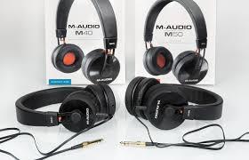 M-Audio M40 и M50 — бюджетные наушники для мониторинга ...