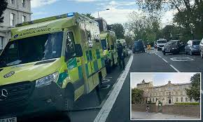 13 schoolgirls rushed to hospital after 'eating <b>sweets</b>' at <b>school</b> ...