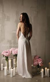 Long Silk <b>Bridal</b> Nightgown With Open Back and <b>Lace</b> F12(<b>Lingerie</b> ...