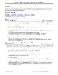 Sample Resumes Resume Examples Best Resumes It Project Manager     Threehorn com