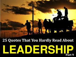 25 Quotes That You Hardly Read About Leadership # 9 via Relatably.com