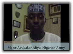 Major Abubakar Aliyu, Nigerian Army. The following video is a testimonial provided by one of our students. We encourage you to watch it and find out how ... - aliyu