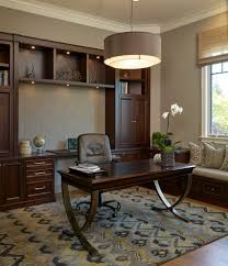 colorful room home office traditional designing tips with roman shade office built ins amazing home offices 3