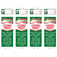 personalized raffle tickets party supplies open a party personalized casino raffle tickets 52pk
